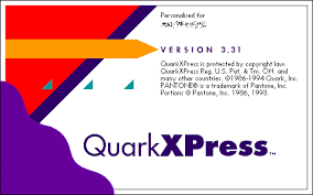 QuarkXPress 3.3J