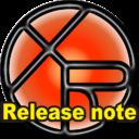 """アプリアイコンwith """"Release note"""""""