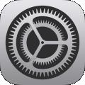 iOSの設定アプリ