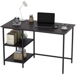desk 120cm x 60cm x 75cm + 収納ラック